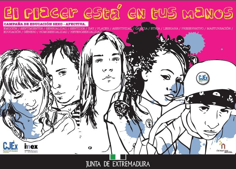 """Imagen de la Campaña """"El Placer está en tus manos"""""""