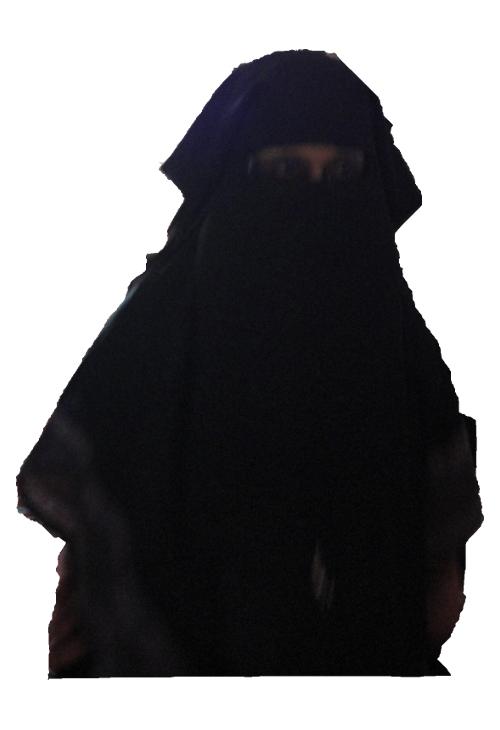 Mujer con Niqab?