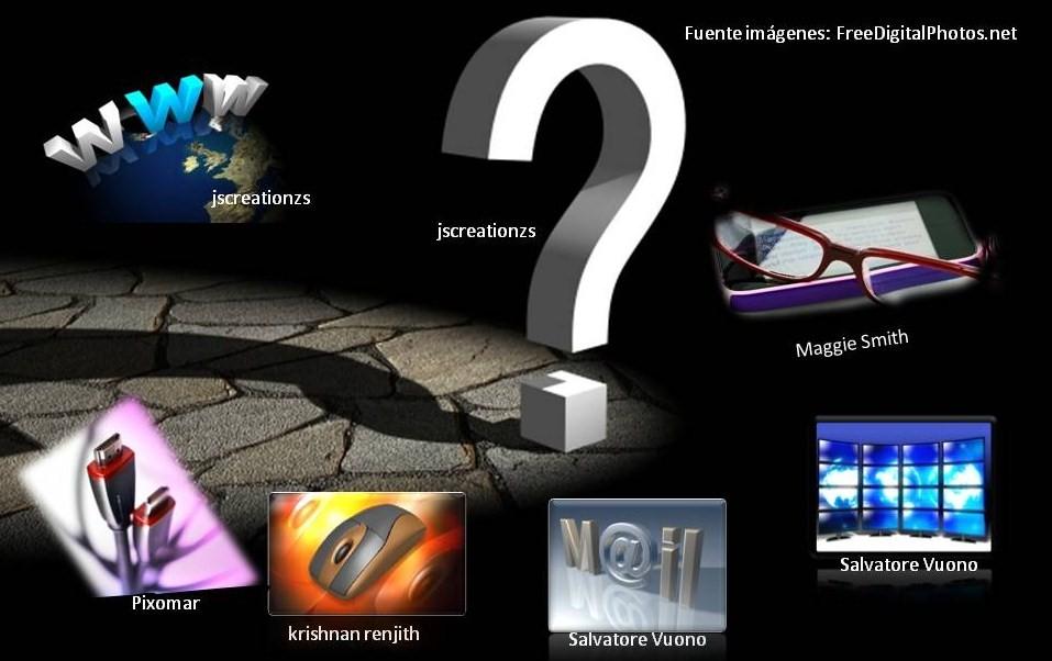 Composición de imágenes de tecnologías